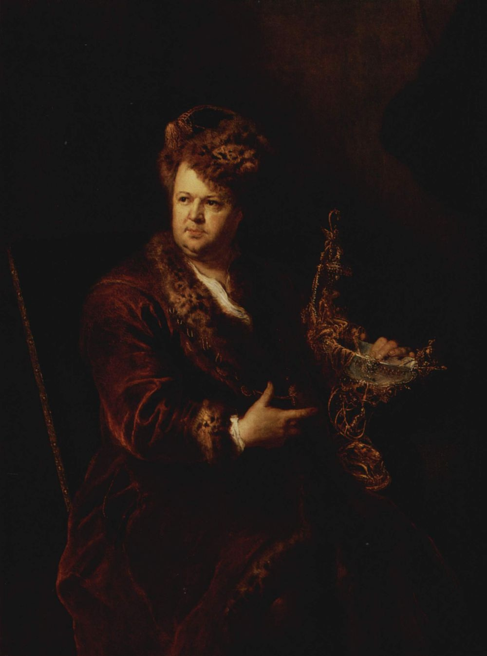 Anton Pesnia. Johann Melchior Dinglinger