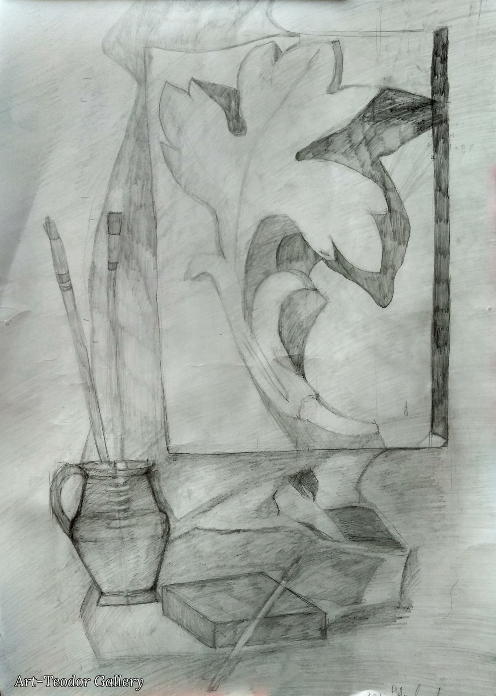 Art-Teodor Gallery. Творческий беспорядок