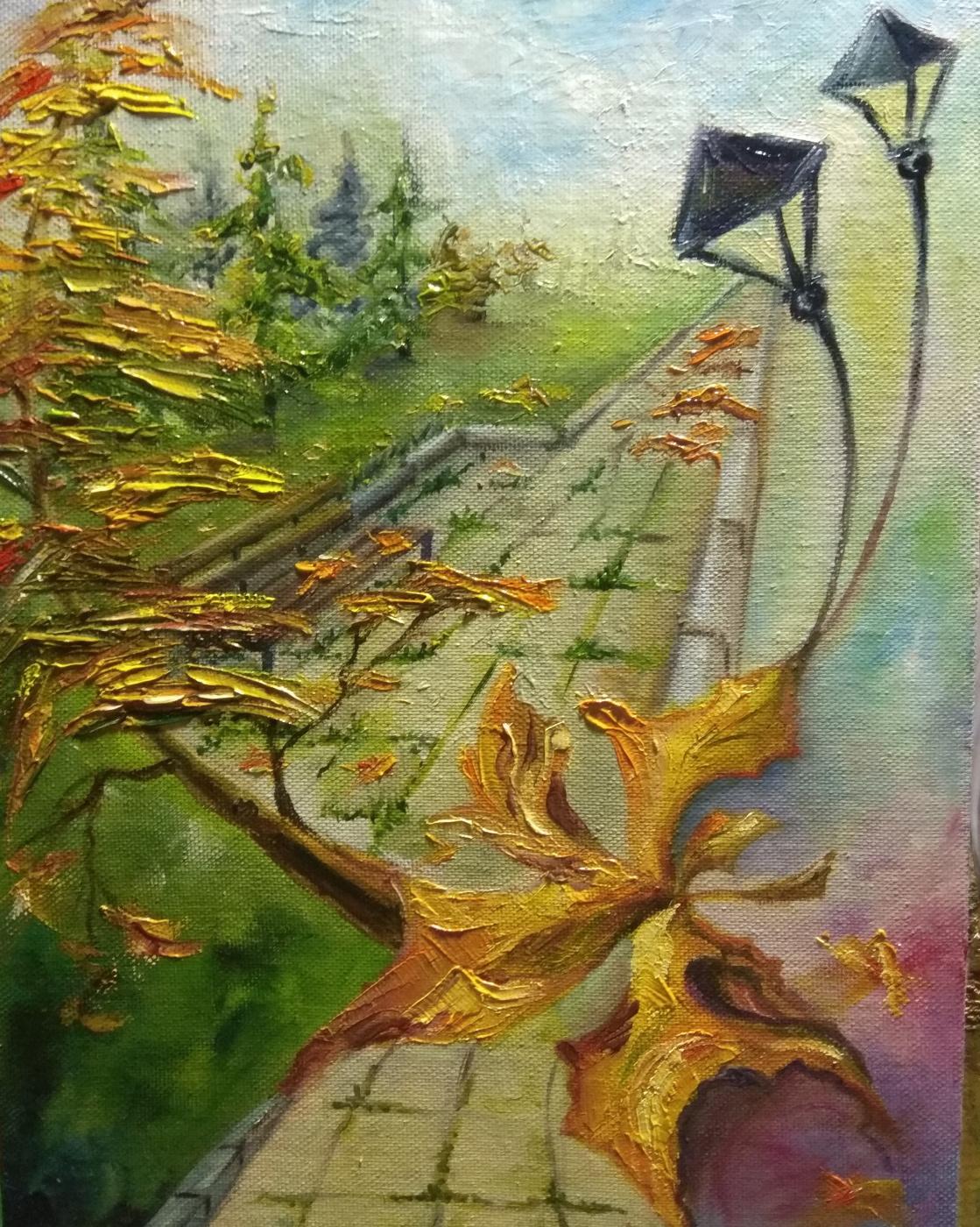 Nadezhda Anatolyevna Poleva. Autumn