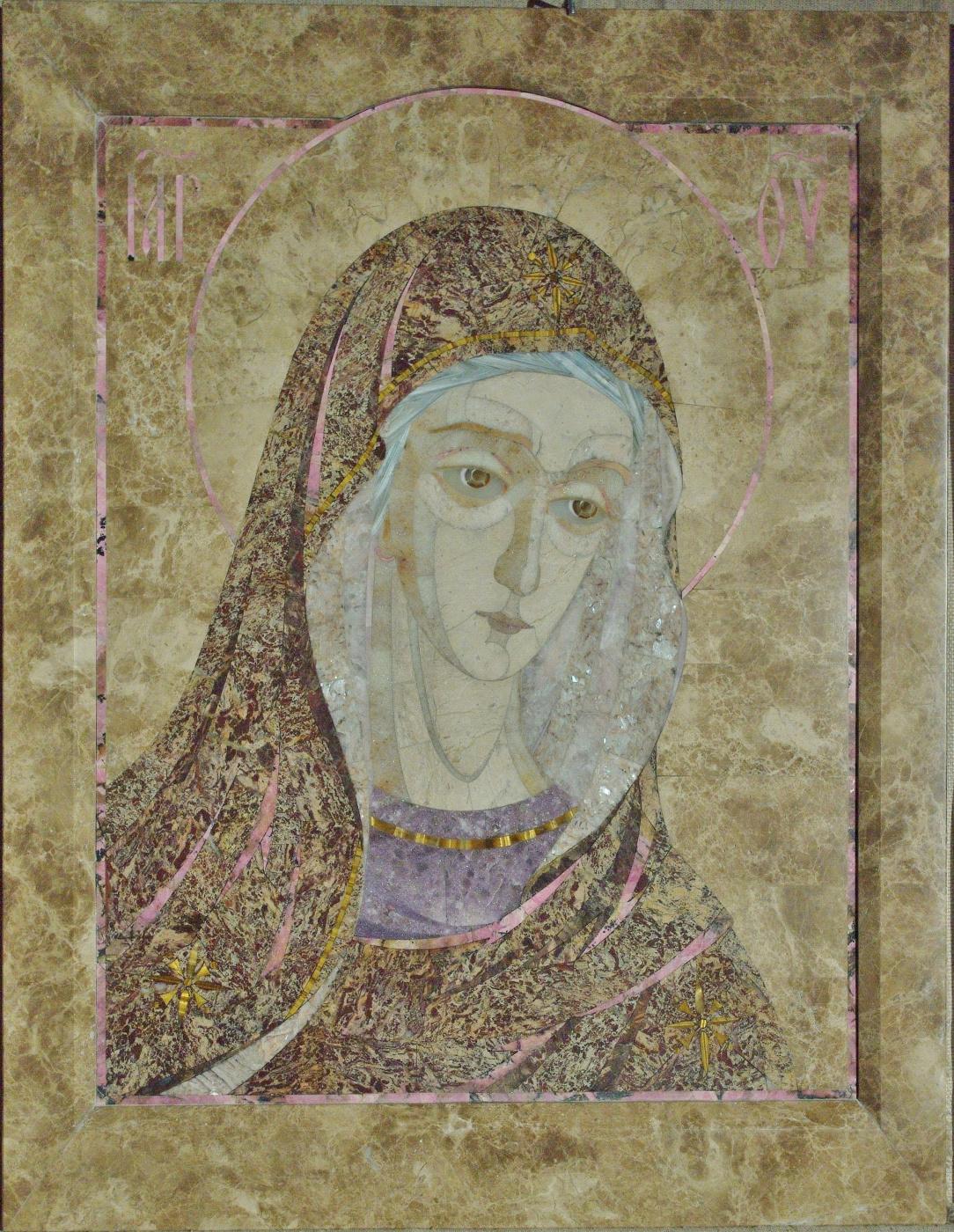 Aleksei Zagorskij. The mother of God (Deesis fragment)