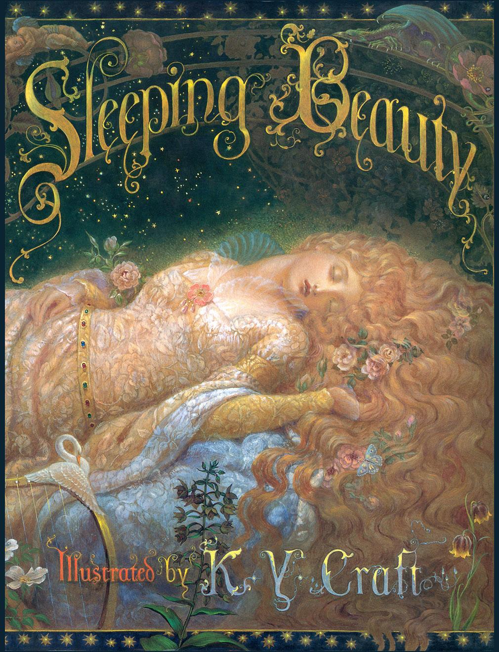 Kinuko Kraft. Sleeping beauty. Cover