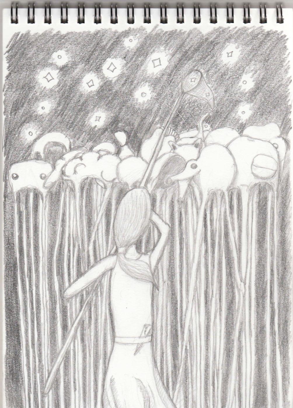 Пётр Великий. The girl catches the stars