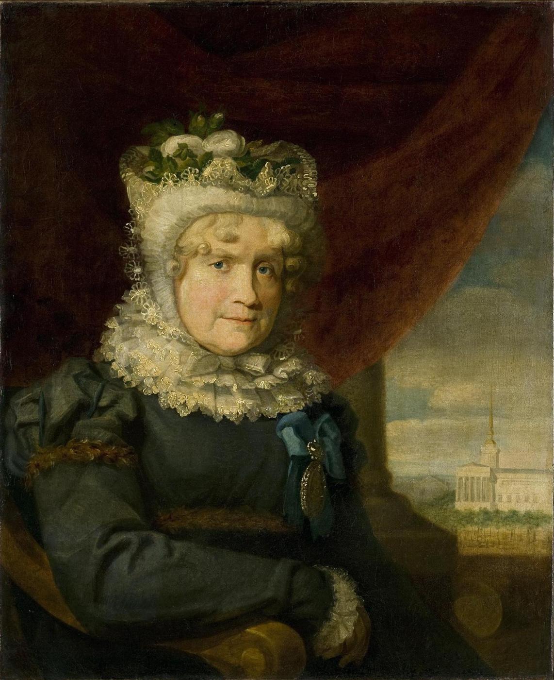 George Dow. Portrait of Charlotte Karlovna von Lieven