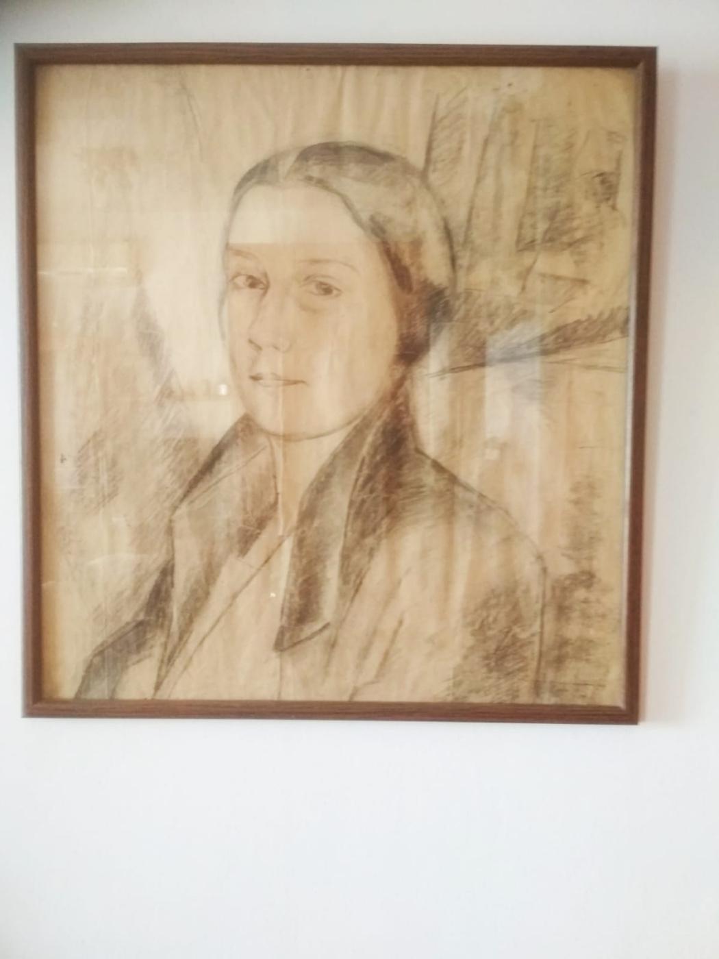 Ada Izrailevna Poberezhskaya. Self-portrait