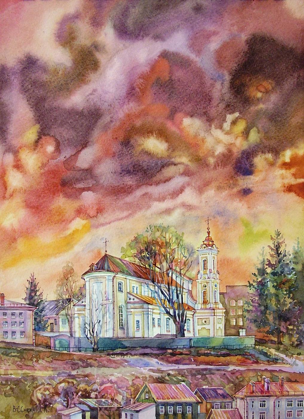 Снежана Казимировна Витецкая Viteckaja. The Church
