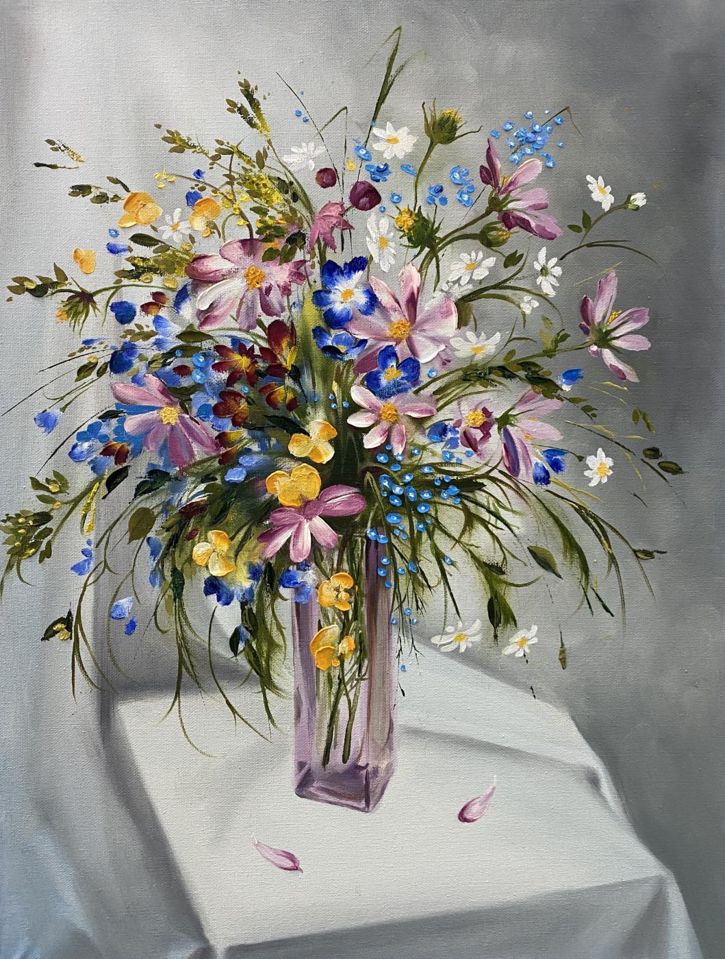 Ruzana Mukhamedovna Datsirkhoeva. Wildflowers