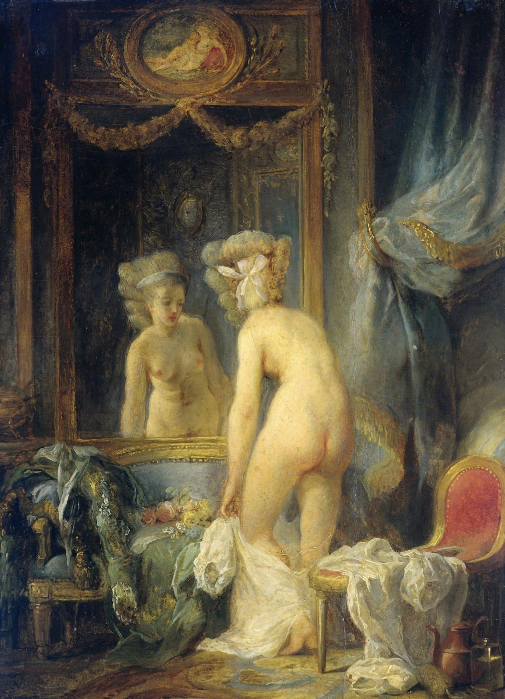 Jean-Frederick Schall. Morning toilet