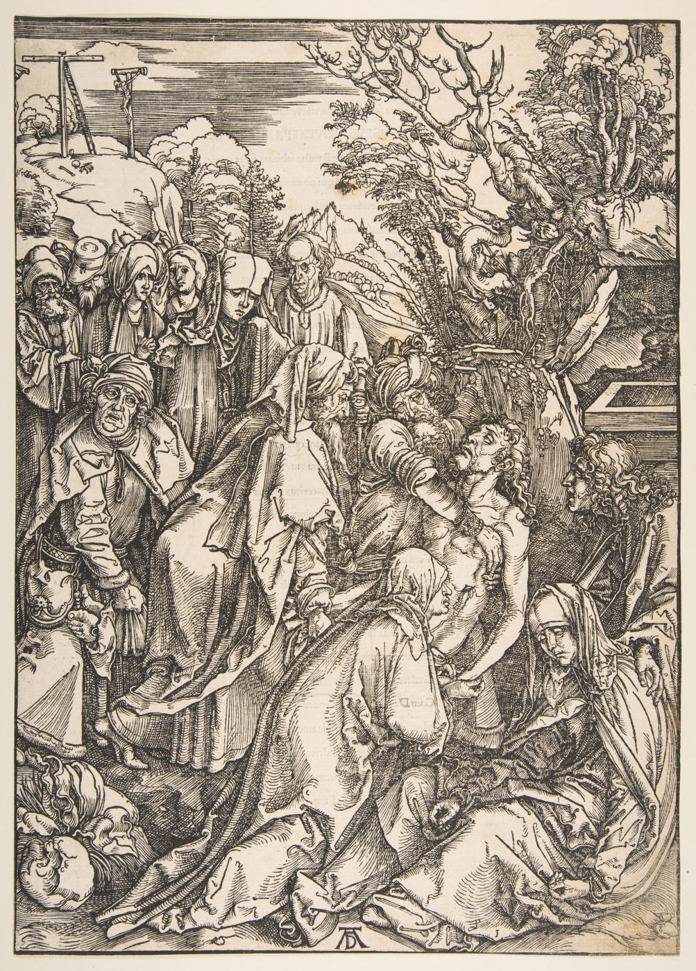 Albrecht Dürer. The Burial Of Christ