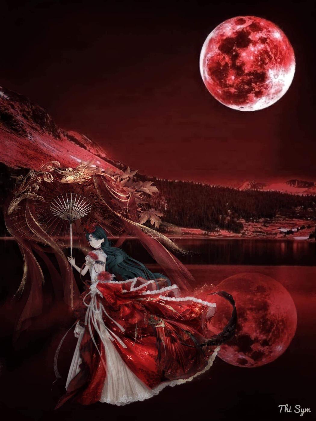 Son Nguyen Huu. Blood Moon