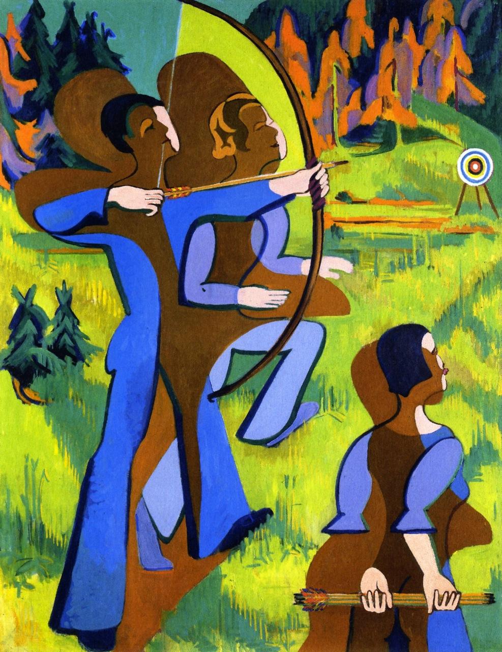 Ernst Ludwig Kirchner. Archery