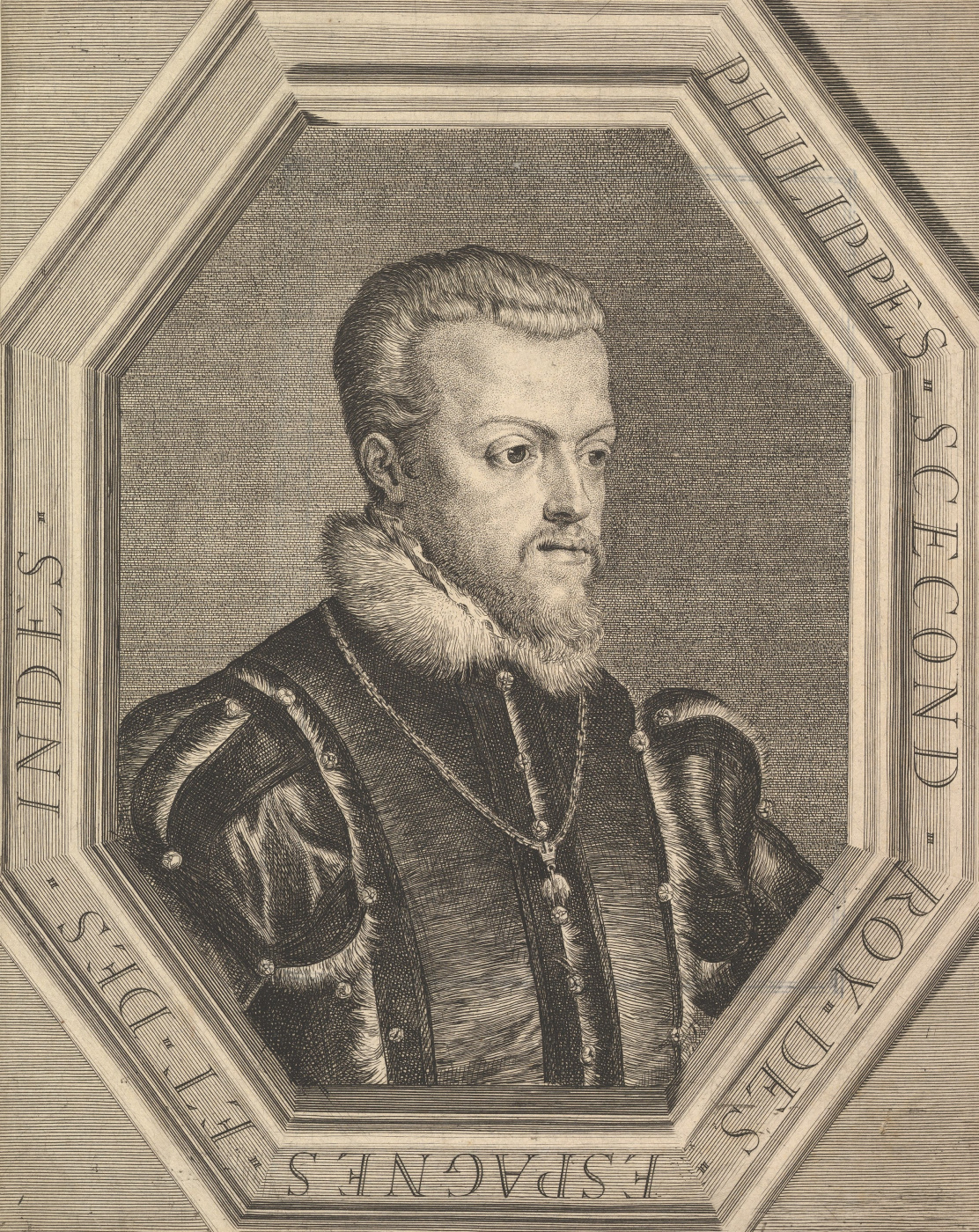 Titian Vecelli. Philippe II, roi d'Espagne