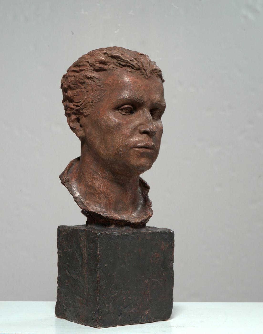 Sarah Dmitrievna Lebedeva (Darmolatova). Portrait of the sculptor Vera Ignatievna Mukhina