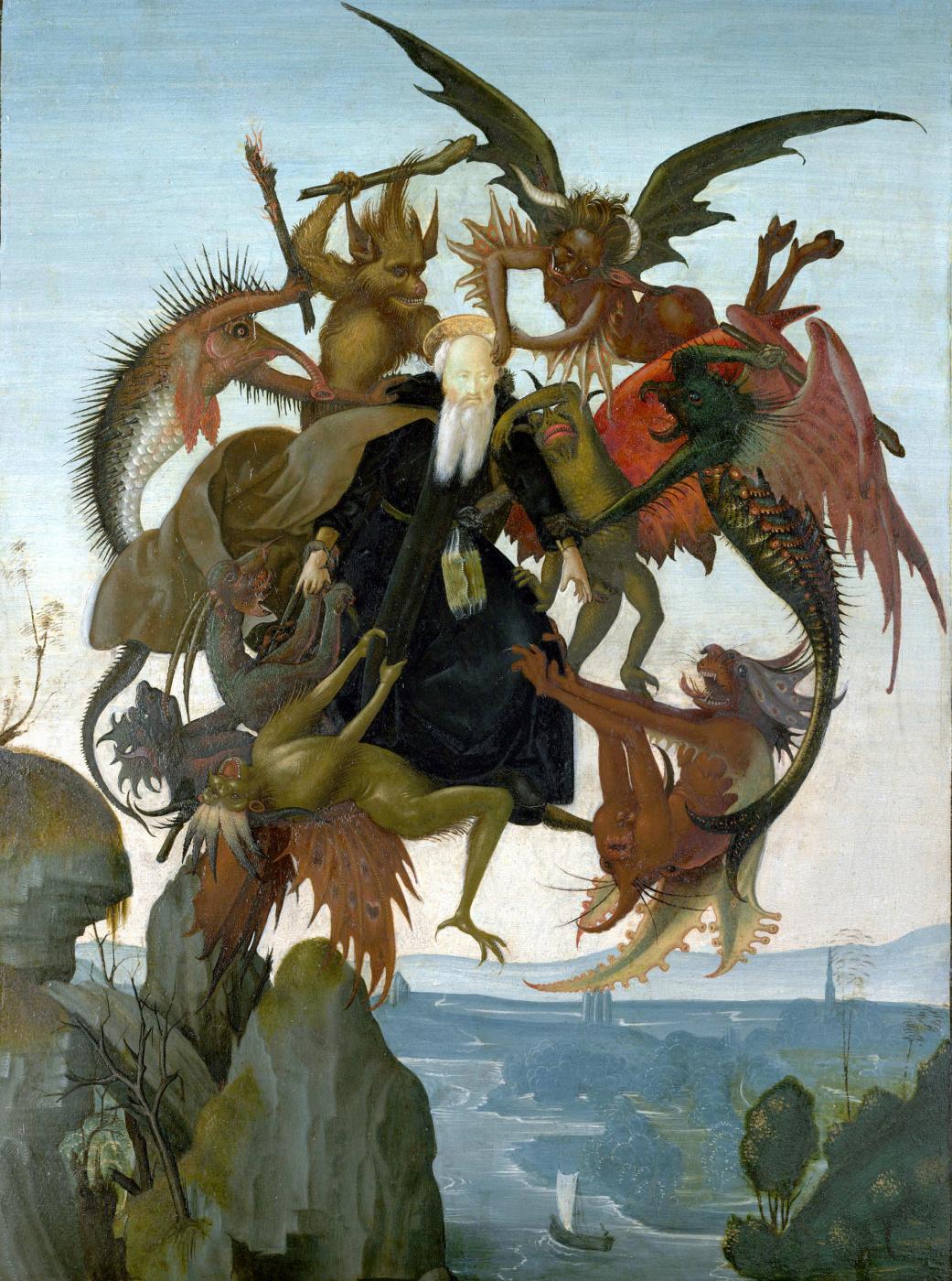 Michelangelo Buonarroti. The torment of Saint Anthony