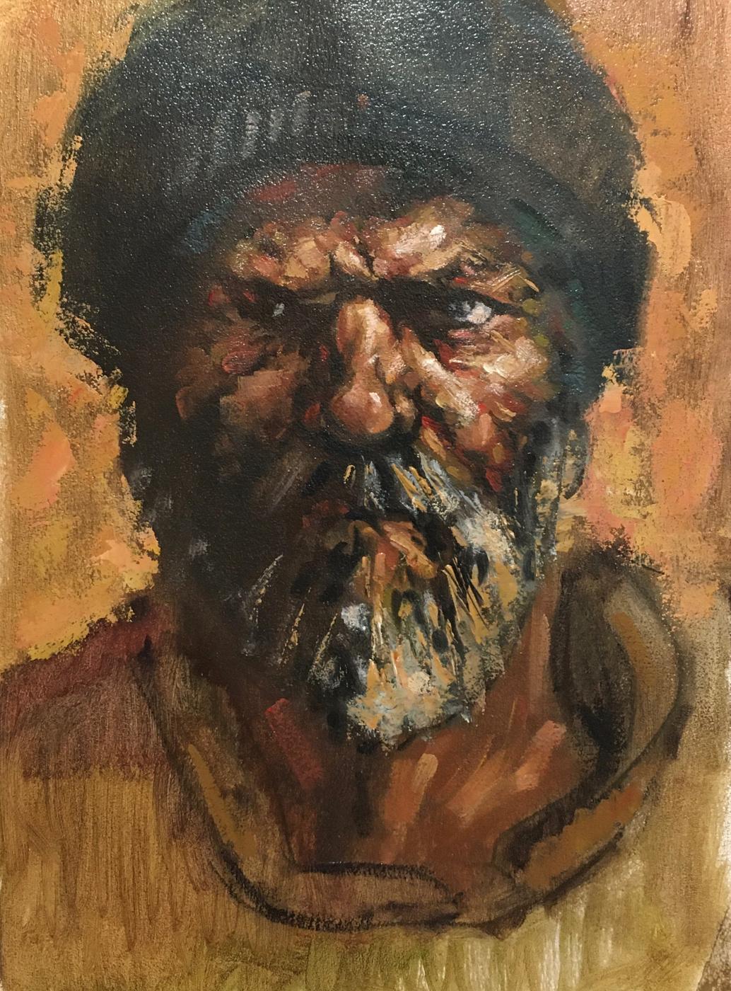 Yuri Ivashkevich. Old hutsul