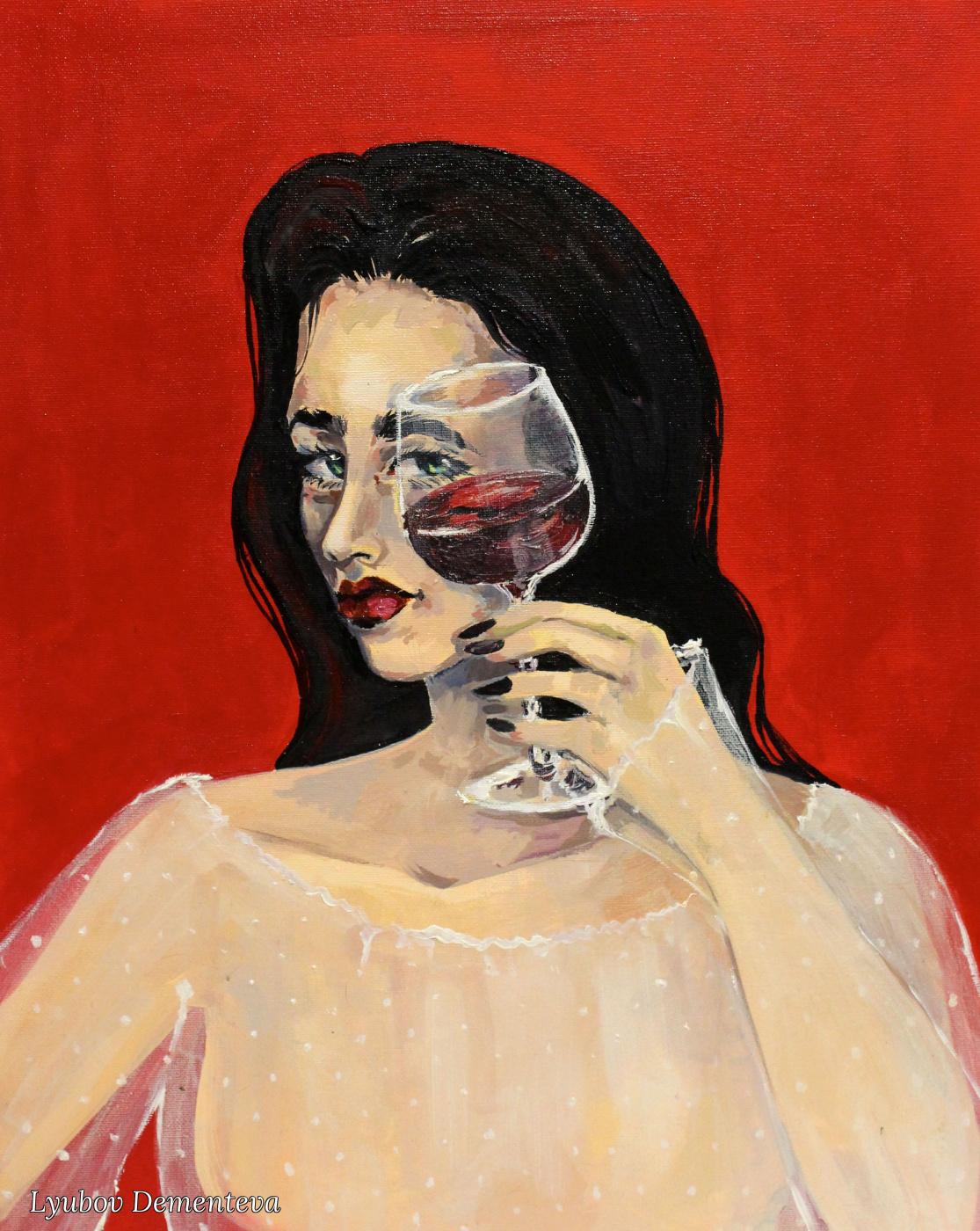 """Lyubov Dementeva. """"In vino veritas"""""""