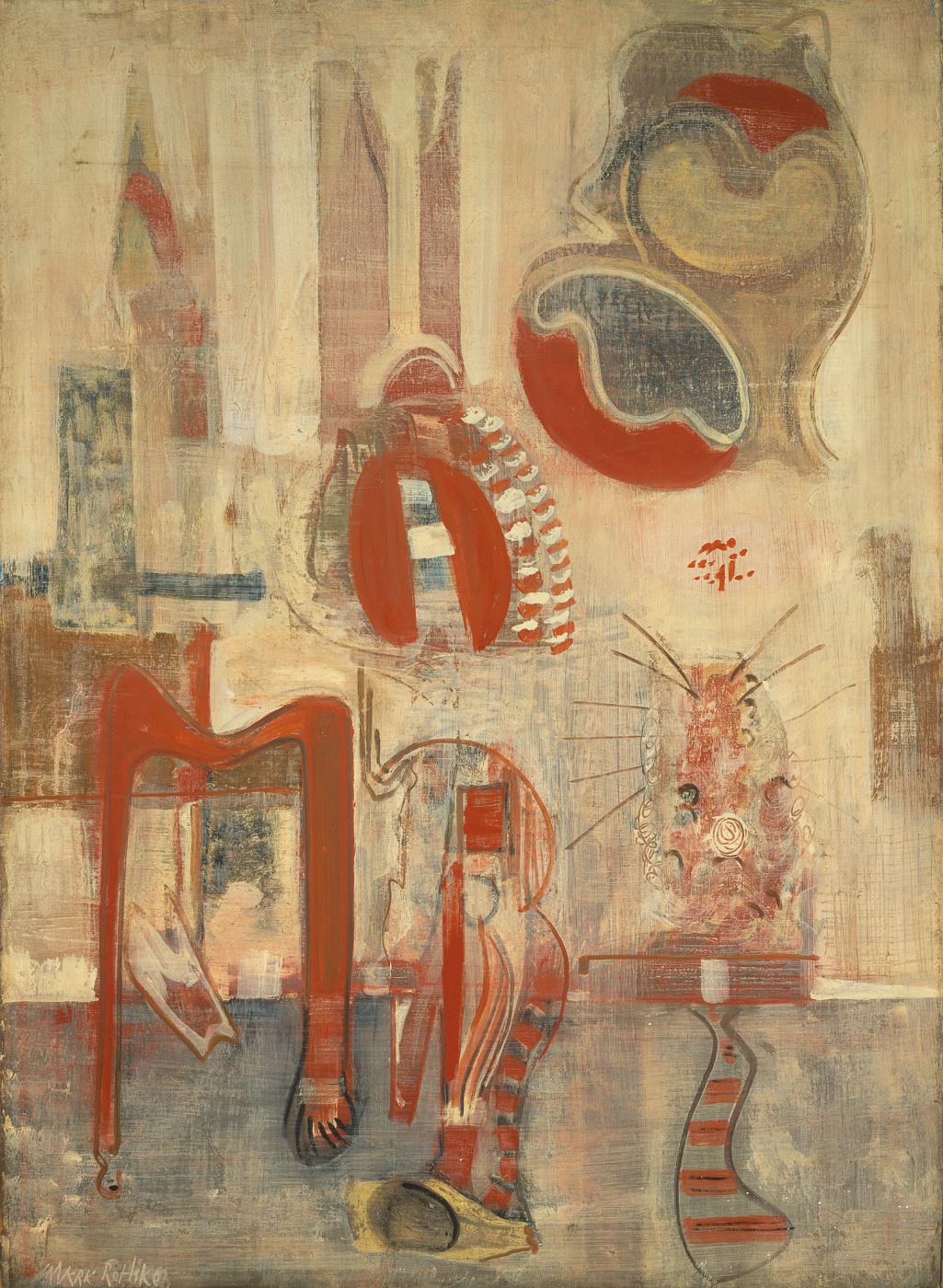 Rothko Mark. Room in Karnak