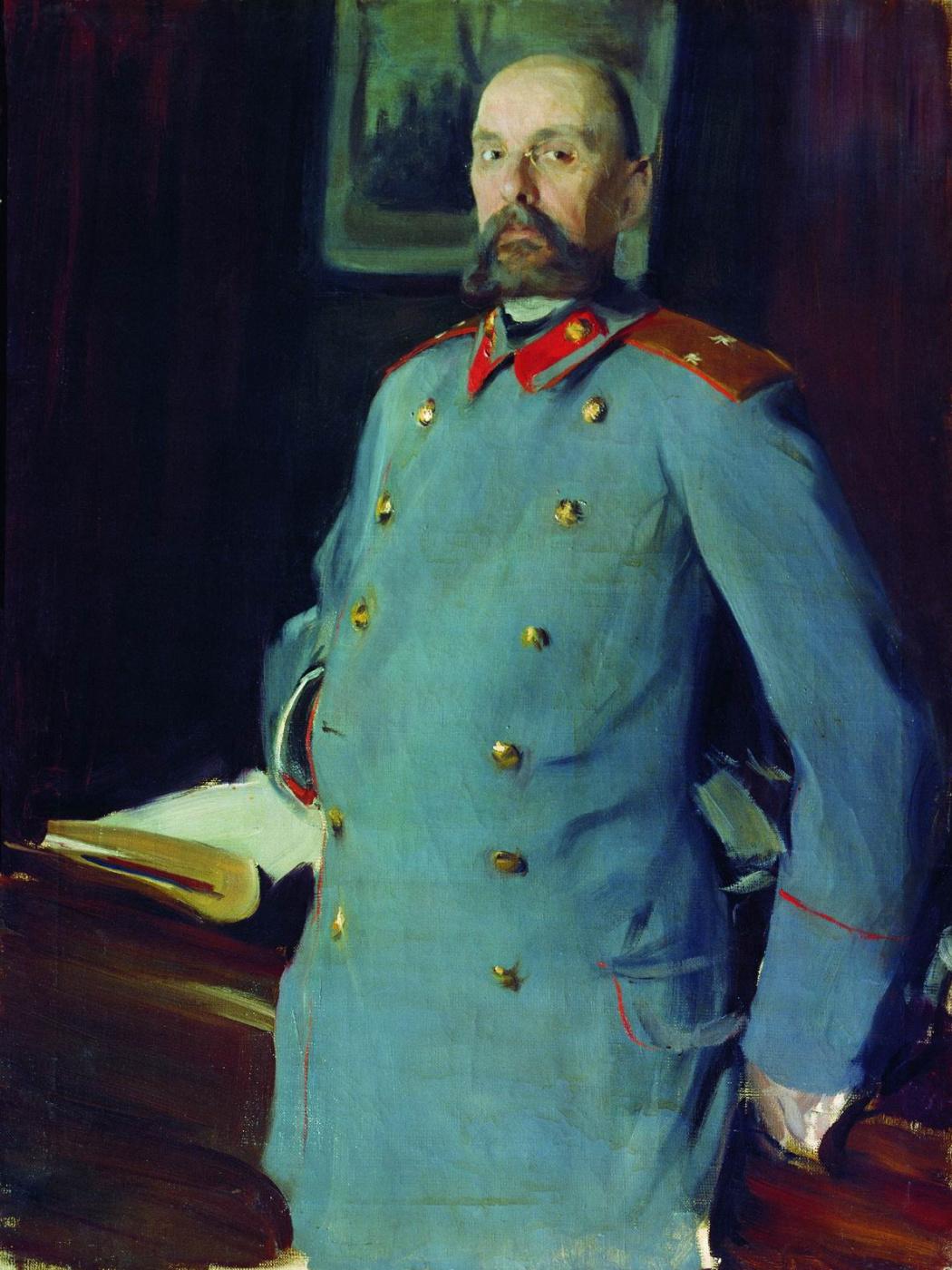Boris Kustodiev. Portrait of the commandant of the Mariinsky Palace the General-the major Pavel A. Sheveleva