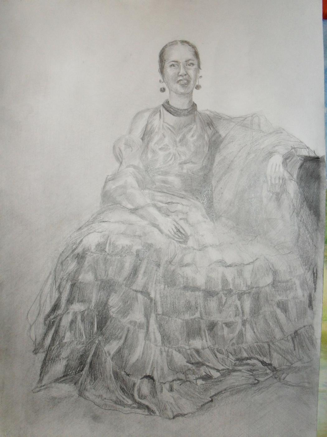 Alyona Golovanov. Girl
