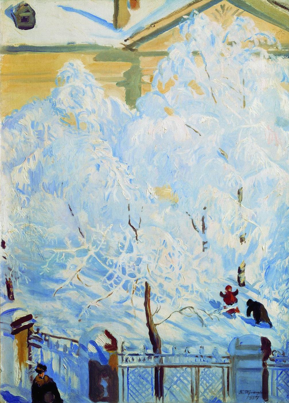 Boris Kustodiev. Frost