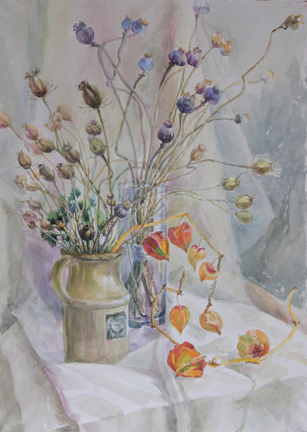 Olga Kuriltseva. Dried flowers