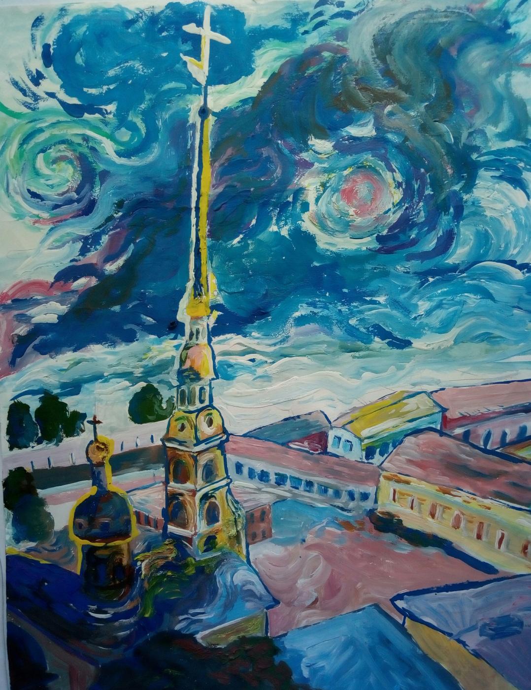 Roman Vereshchagin. Peter-Pavel's Fortress