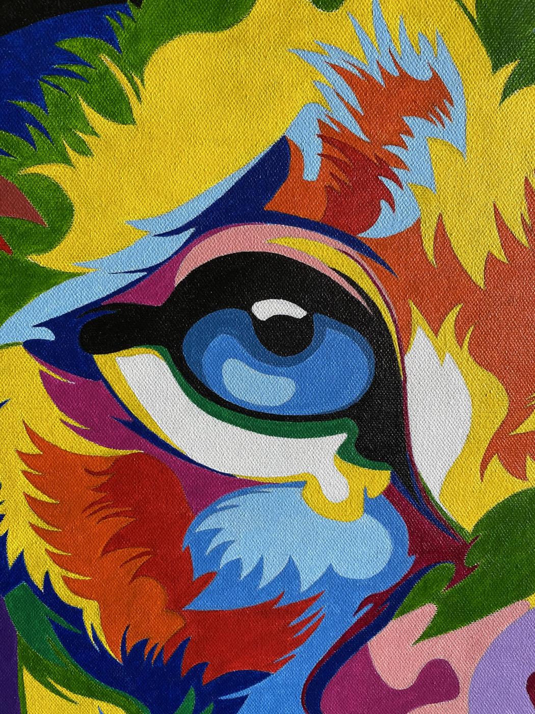 Красочный Лев