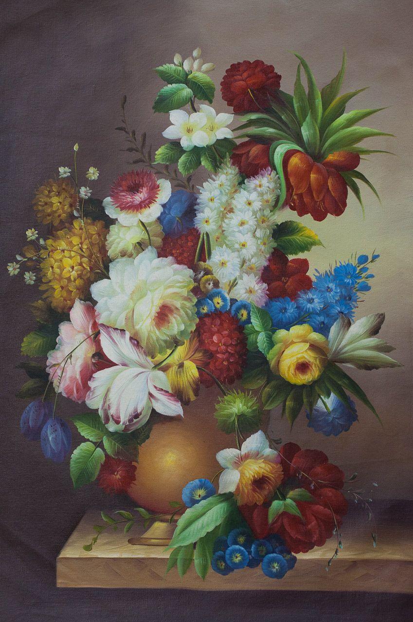 Maria Potapova. Baroque bouquet N8