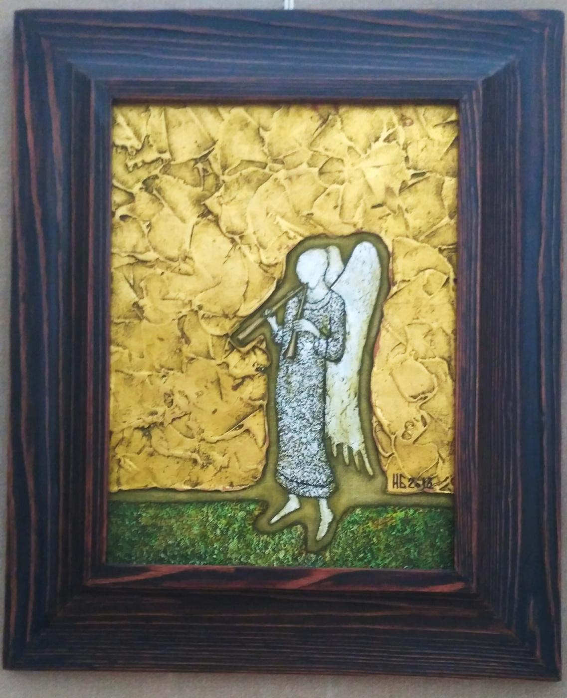 Белоногов. Ангел с дудочками