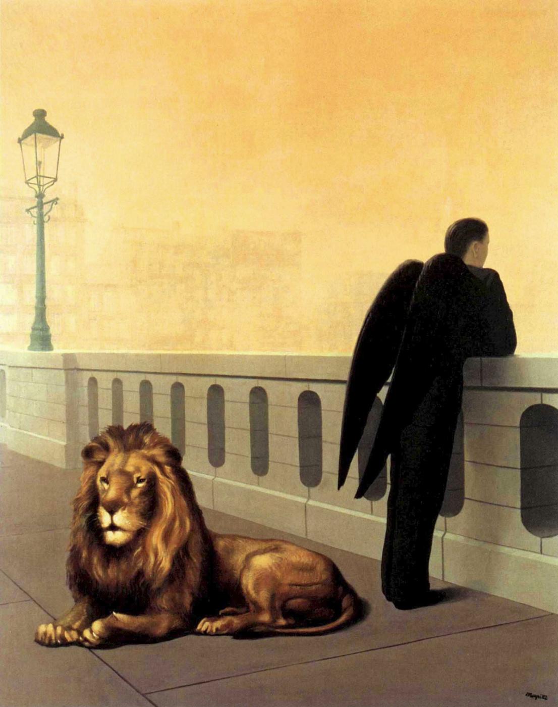 René Magritte. Homesickness