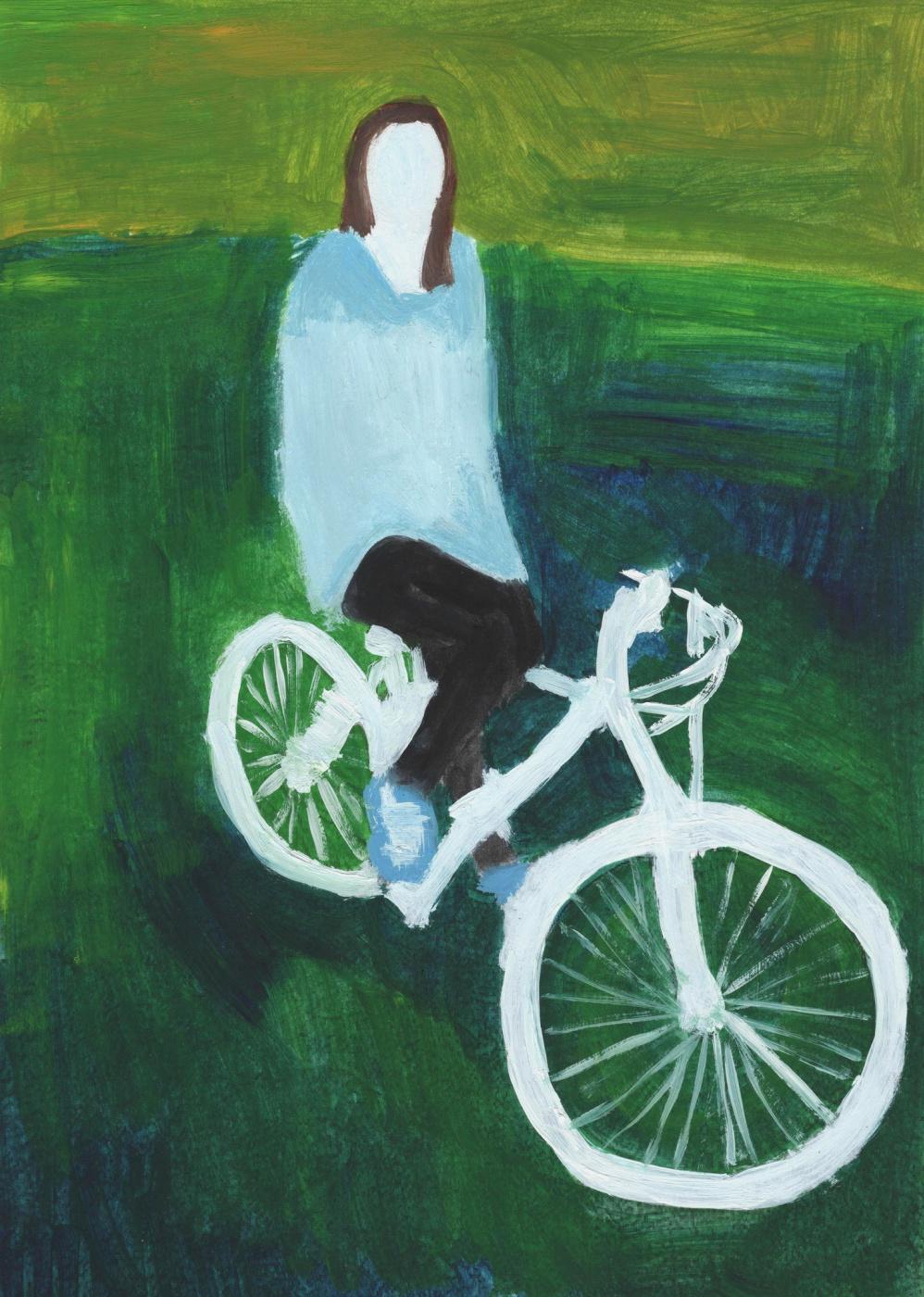 Nickie Zimov. Ghost rider