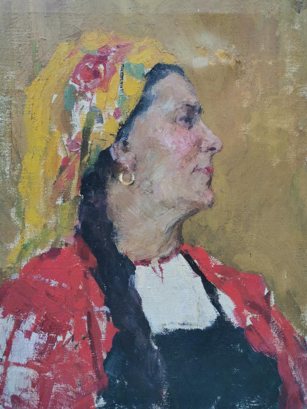 Vasily Vasilyevich Sharapov. Female portrait