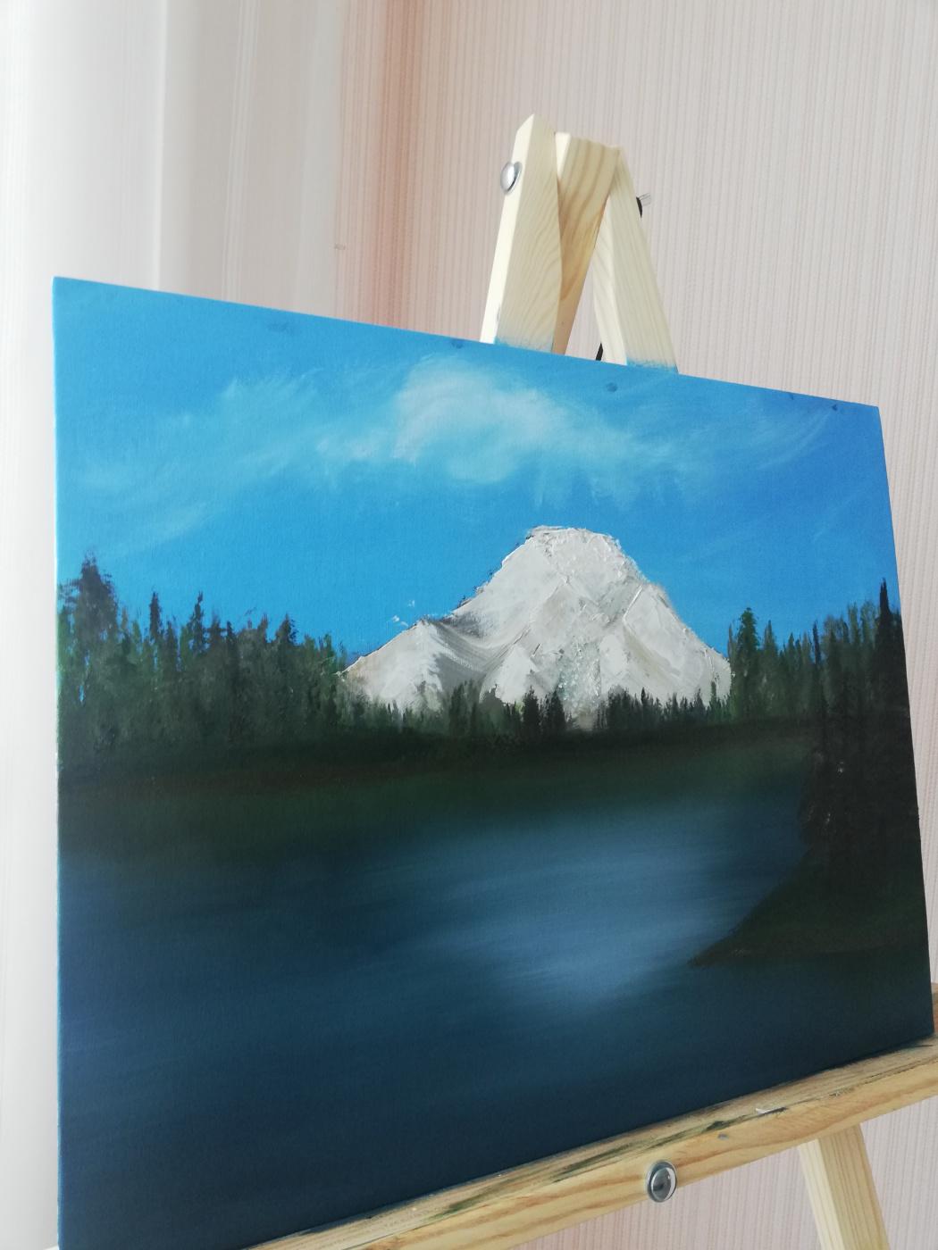 Niya Valentinovna Zhernosek. Mountain landscape