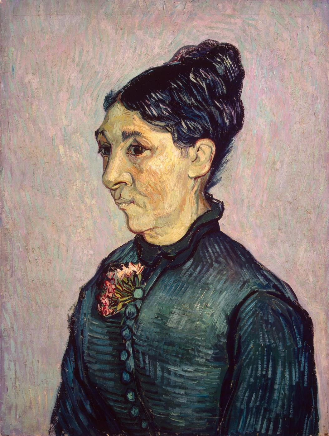 Vincent van Gogh. Portrait of Mrs. Trabuc
