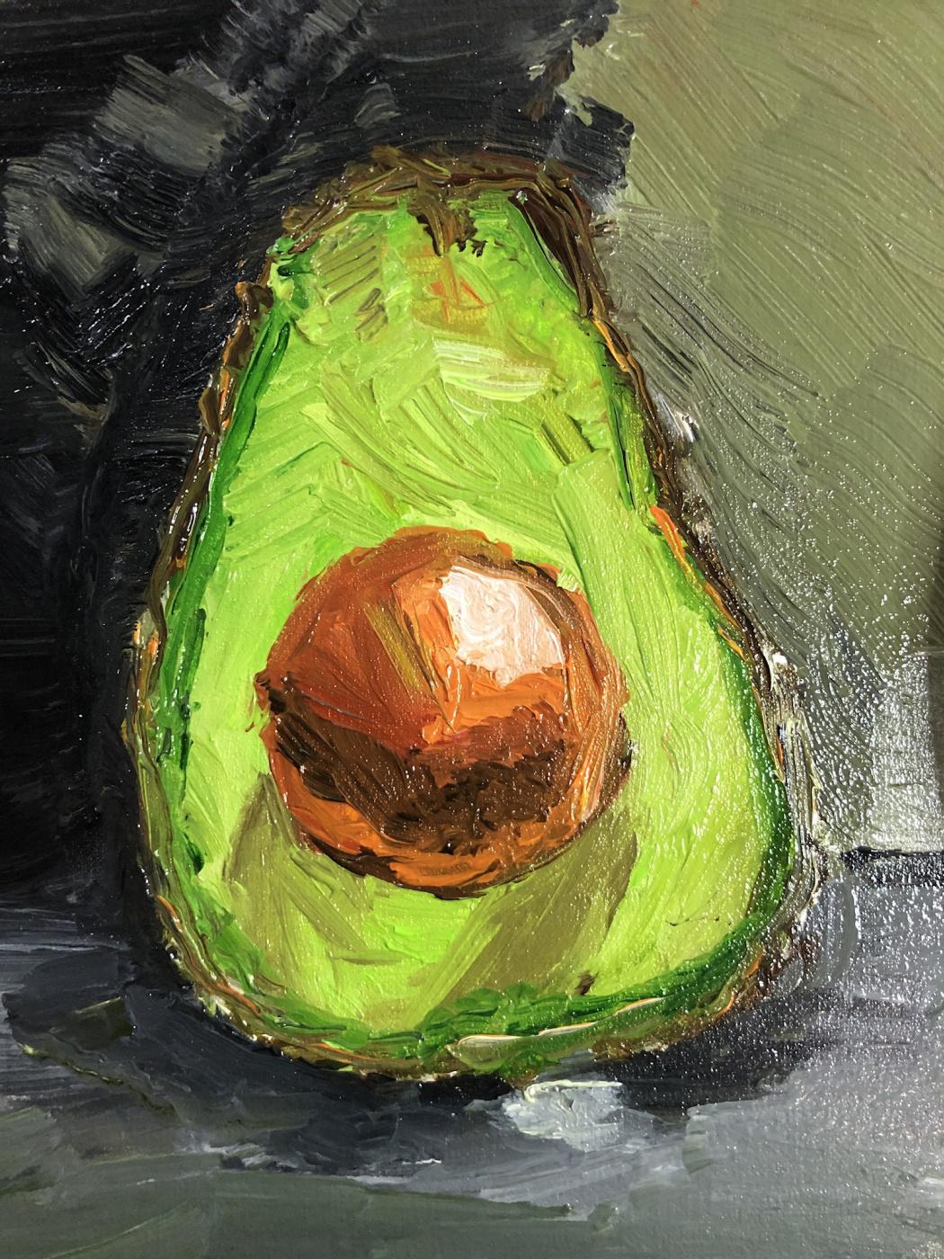 Маша Стенина. Спелый авокадо