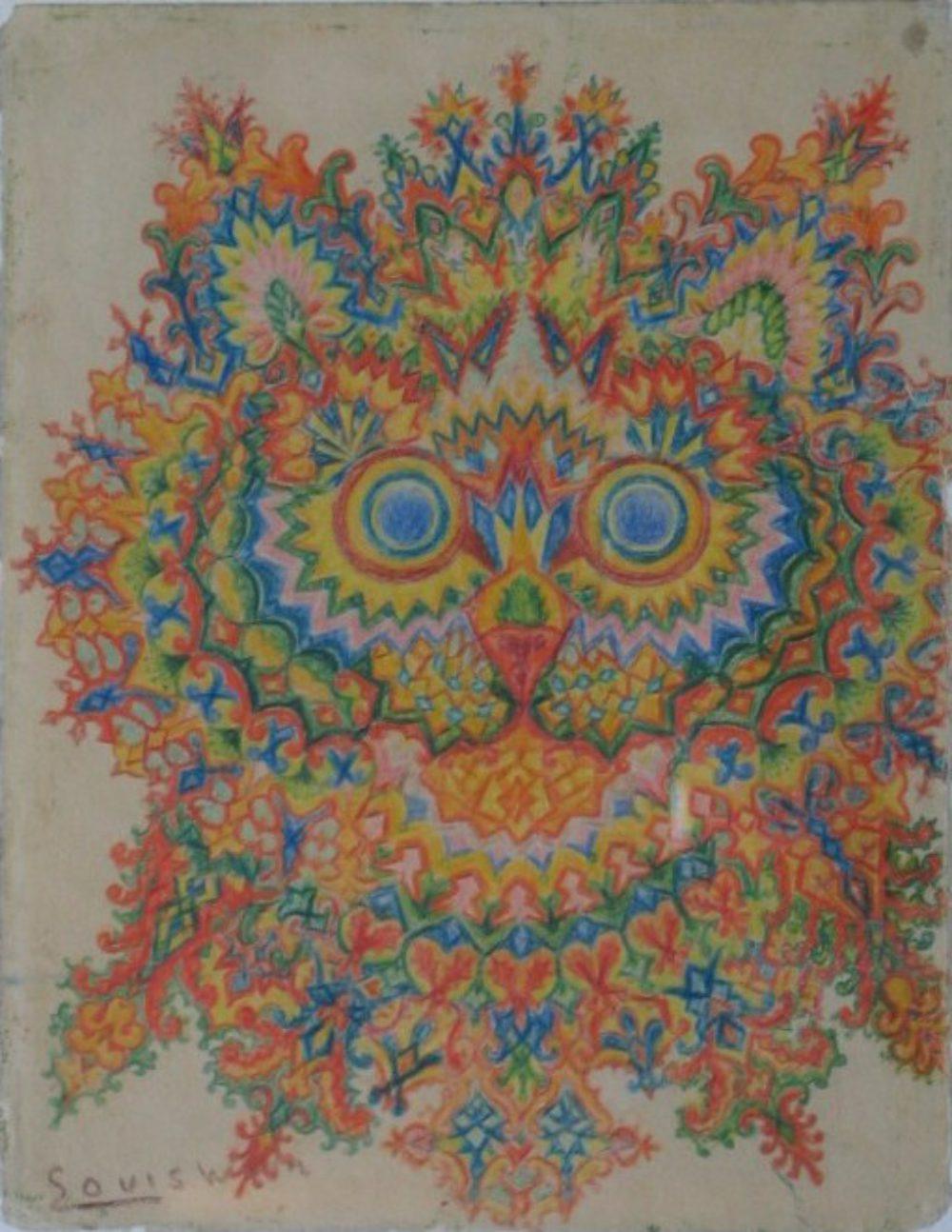Louis Wain. Ivory Kaleidoscope IV
