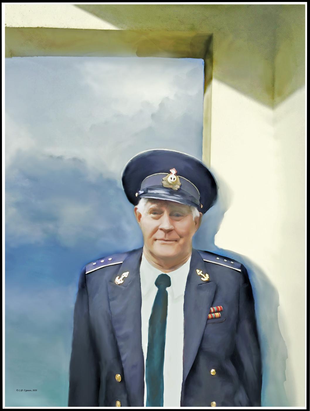 Svetlana Fedorovna Gurevich. Portrait