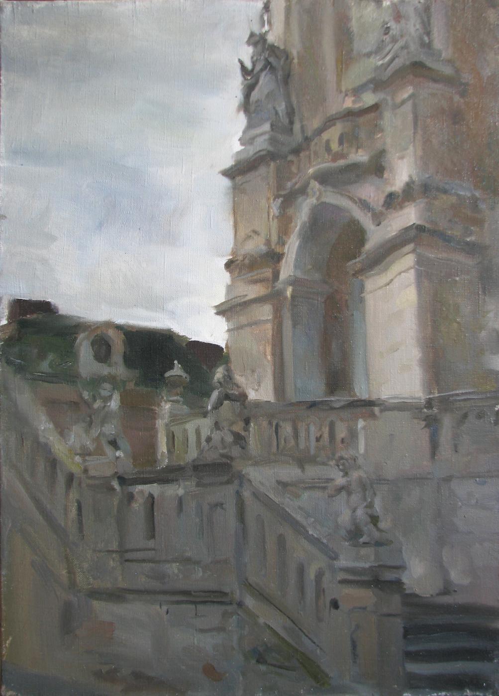 Dmitry Nayda. Cathedral etude