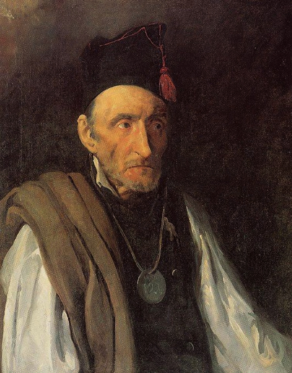 Théodore Géricault. Insane, imagining himself commander