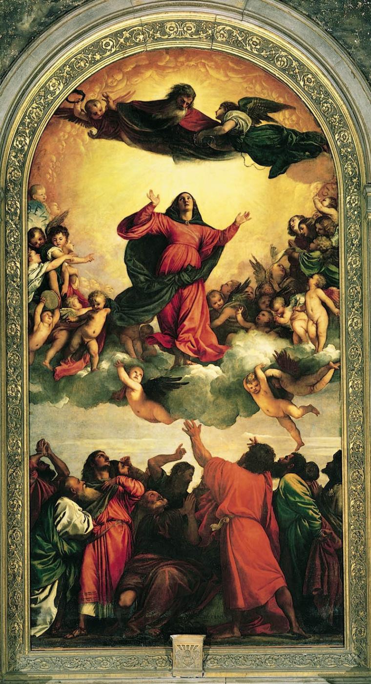 Titian Vecelli. Assunta: Assumption Of The Virgin Mary