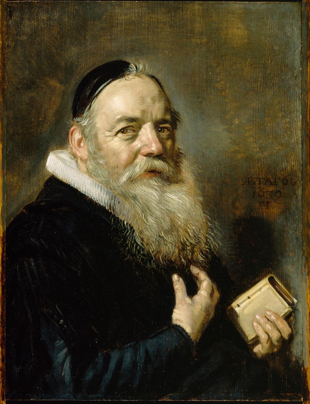 Frans Hals. Portrait of Hendrik Swalmius