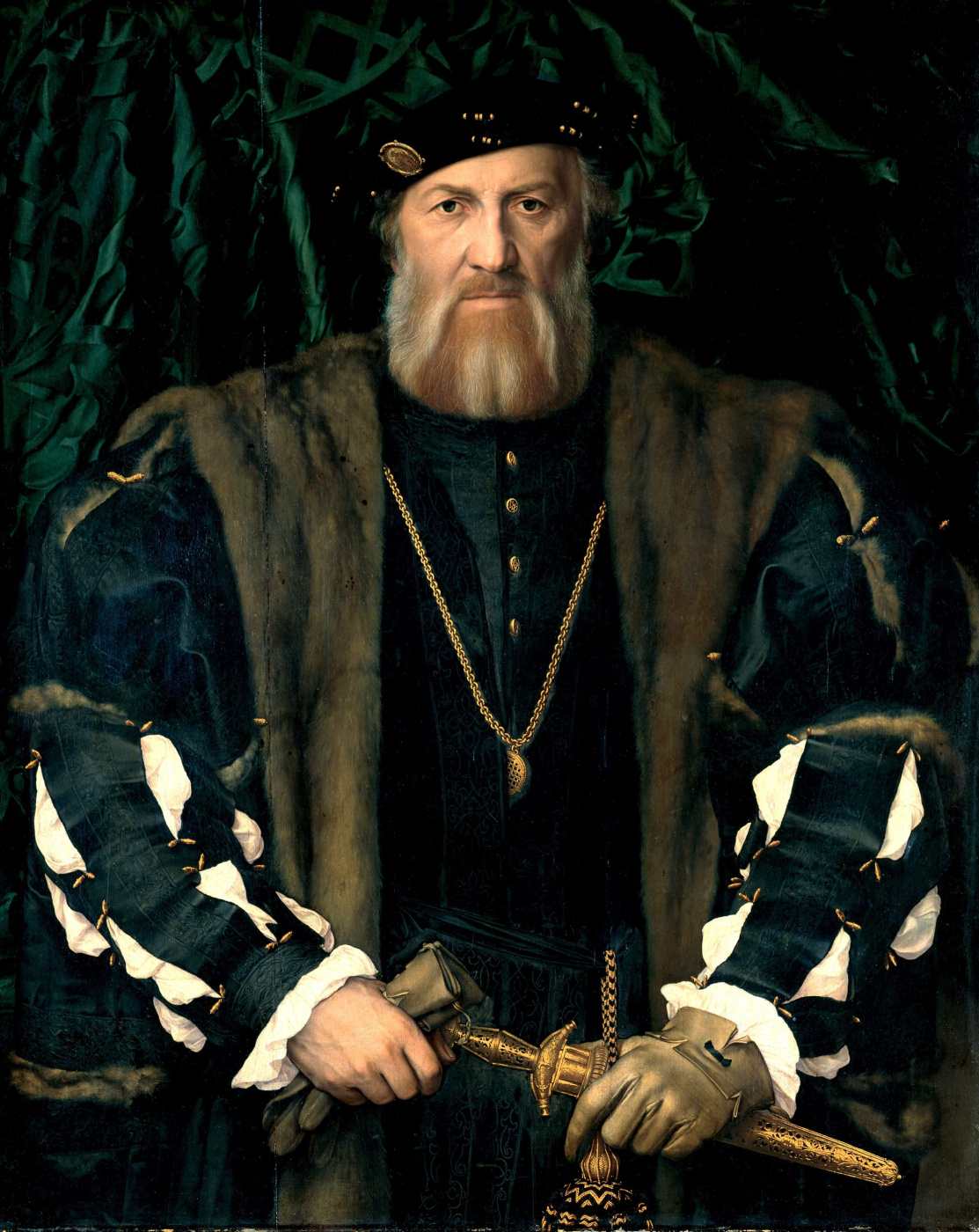 Hans Holbein the Younger. Portrait of Charles de Solier, Sir de Morett, French Ambassador to London