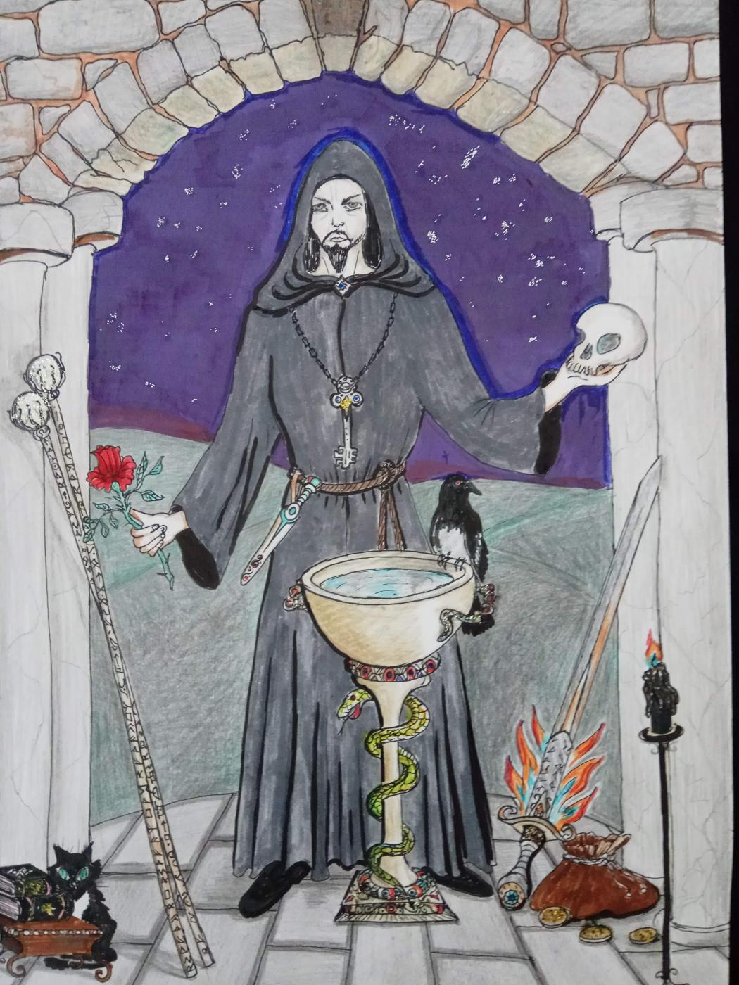 Nadin. Magician