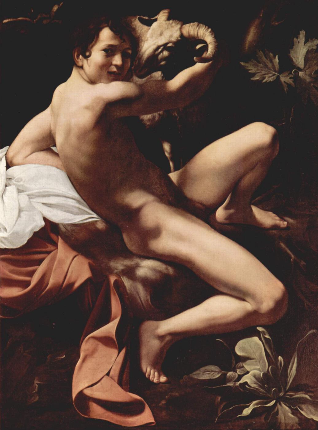 Michelangelo Merisi de Caravaggio. Saint John The Baptist