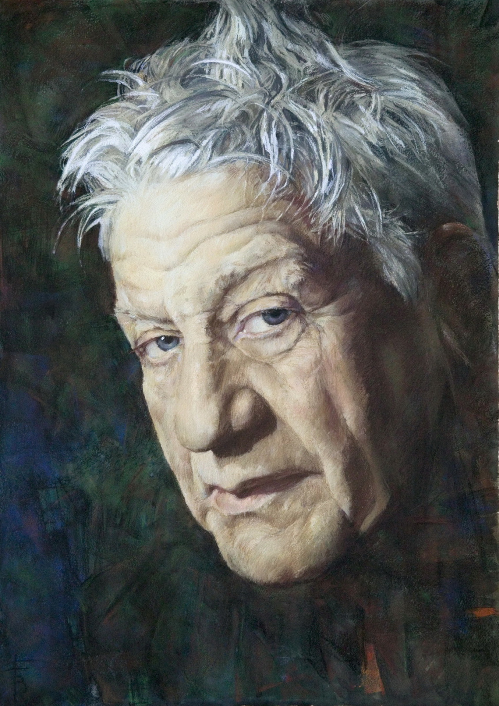 Gavrilenko. Portrait of I.P. Vladimir