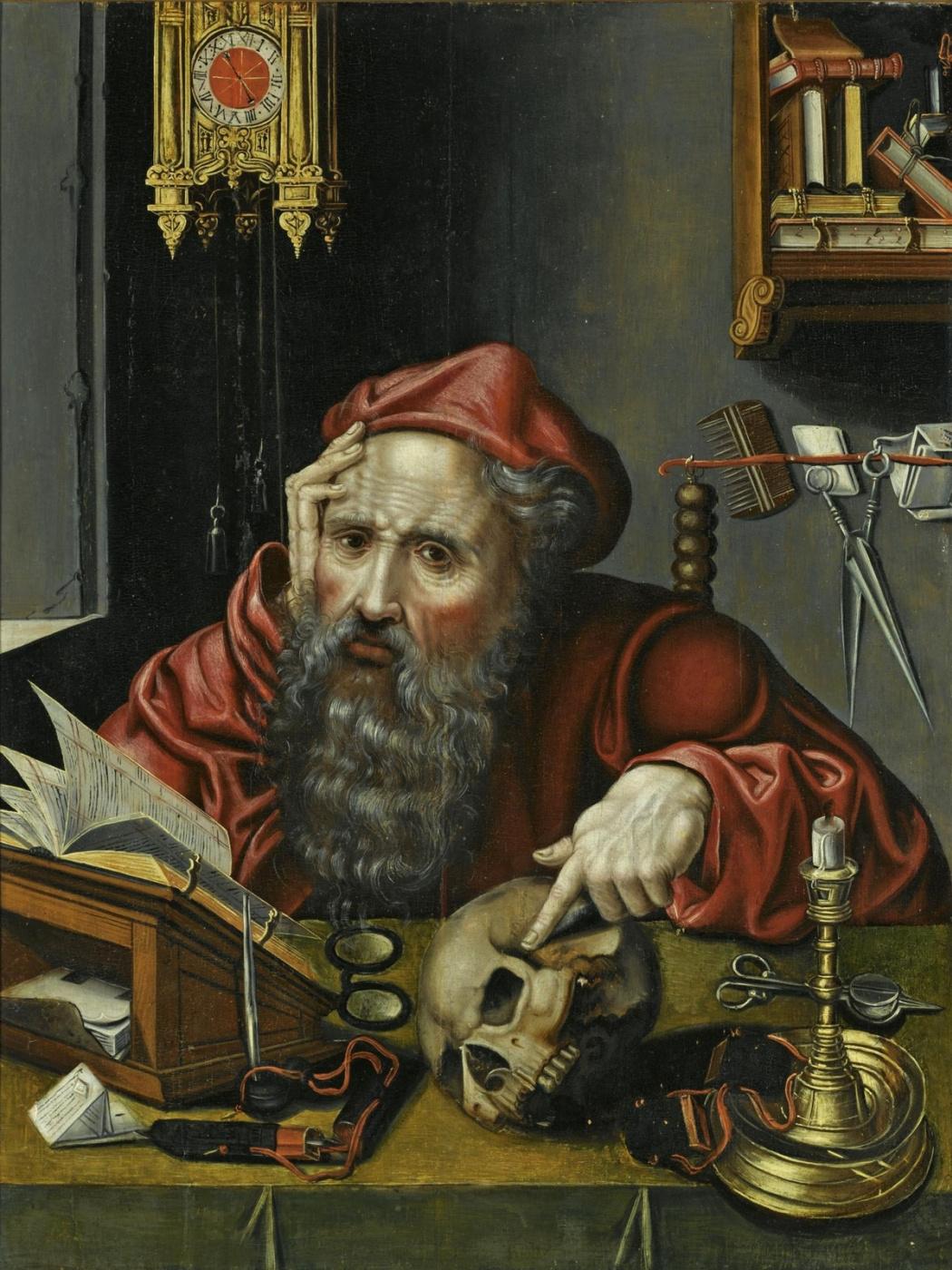 Jos van Kleve. St. Jerome in his cell. XVI in