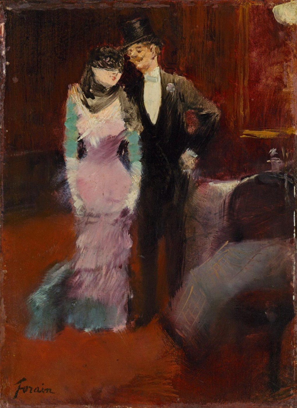 Jean-Louis Foren. Exit from the masquerade