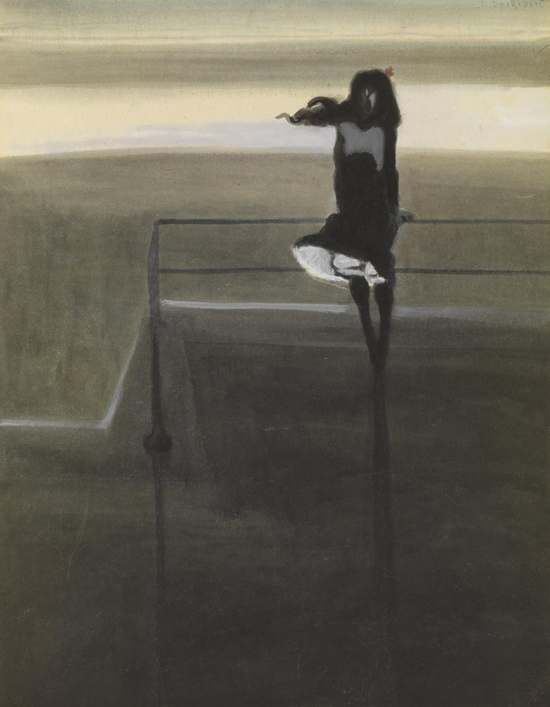 Leon Spilliaert. Gust of wind