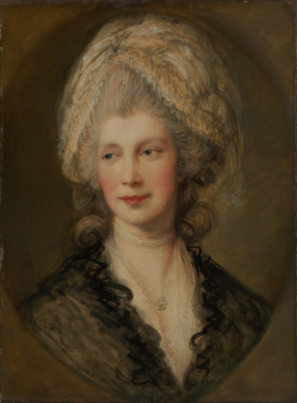 Thomas Gainsborough. Queen Charlotte (II),