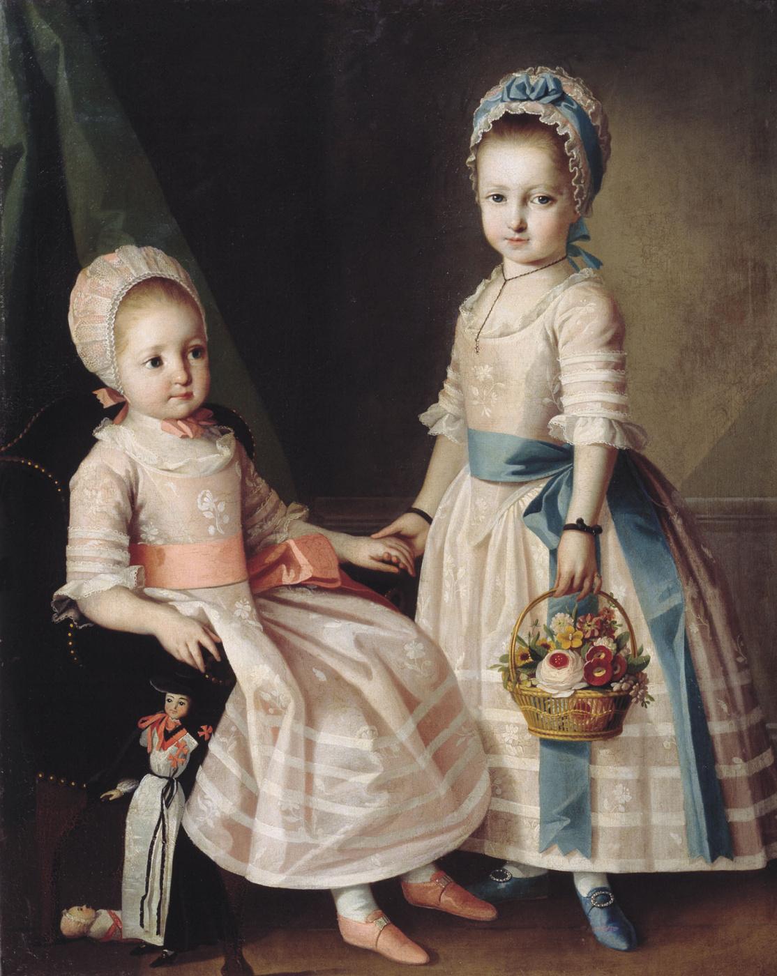 Karl Ludwig Johann Christinek. Девочки