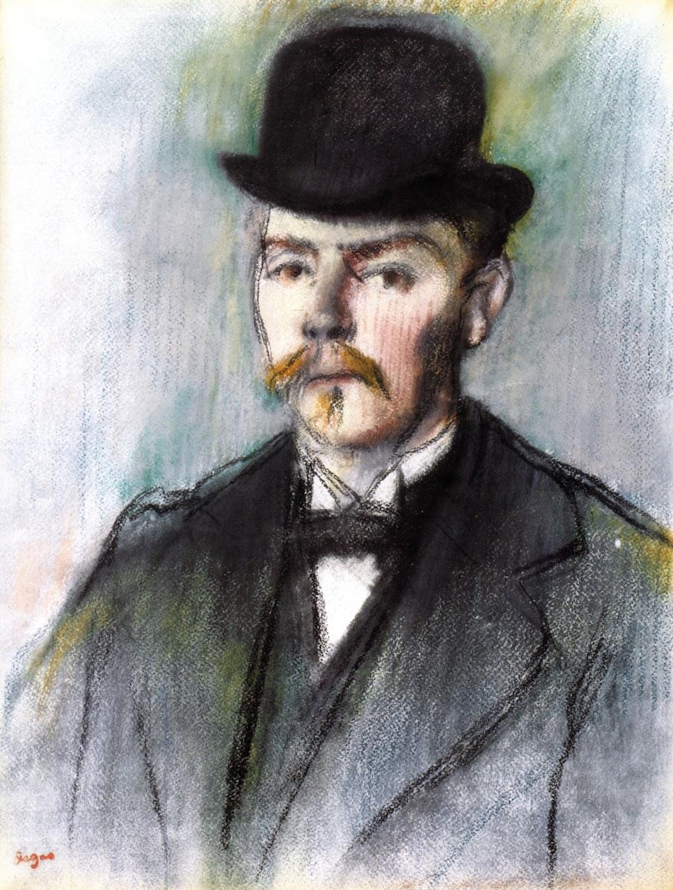 Edgar Degas. Alexis Ruar